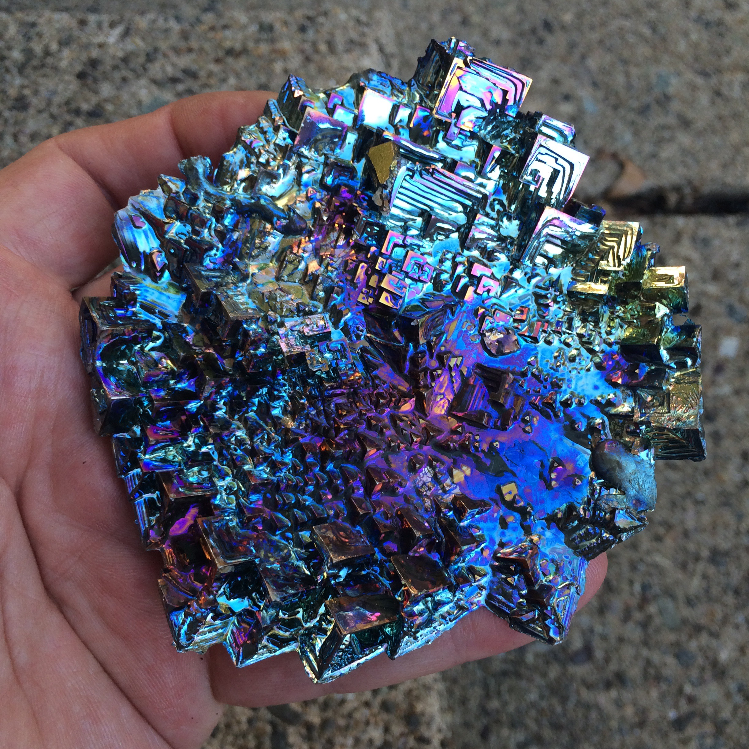 Bismuth Makes A Great Soap Dish King Bismuth The